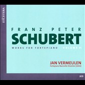 Schubert: Works For Fortepiano, Vol. 6 / Vermeulen
