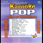 Karaoke: Chartbuster Karaoke: Pop Hits of the Month: December 2010 [Slipcase]