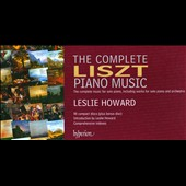 The Complete Liszt Piano Music / Leslie Howard, piano