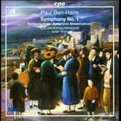 Paul Ben-Haim: Symphony No. 1; Fanfare to Israel / Israel Yinon