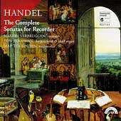 Handel: The Complete Sonatas for Recorder / Verbruggen
