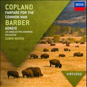 Copland: Fanfare for the Common Man; Barber: Adagio for Strings et al. / Zubin Mehta, Los Angeles PO
