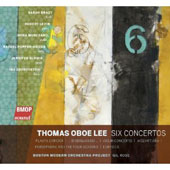 Thomas Oboe Lee: Six Concertos / Oboe Lee, Brady, Levin and Rose