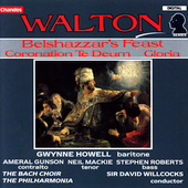 Walton: Belshazzar's Feast, etc / Willcocks, Philharmonia