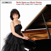 Noriko Ogawa Plays Mozart: Sonatas C major K.330, A major K.331, F major K.332 / Noriko Ogawa, piano