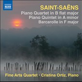 Saint-Saens: Piano Quartet; Piano Quintet; Barcarolle / Cristina Ortiz, piano