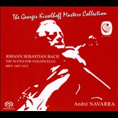 J.S. Bach: The Suites for Cello, 1-6, BWV 1007-1012 / André Navarra, cello