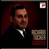 The Opera Recital Album Collection / Richard Tucker, tenor [10 CDs]