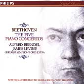 Beethoven: The Five Piano Concertos / Brendel, Levine