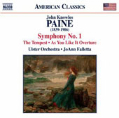 John Knowles Paine: Symphony No. 1; The Tempest; As You Like It, overture / Ulster Orch., Falletta
