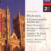 Handel: 4 Coronation Anthems, etc / King's College, et al