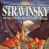 Stravinsky: Music for Piano / Martin Jones