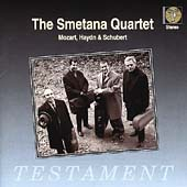 Mozart, Haydn, Schubert: String Quartets / Smetana Quartet