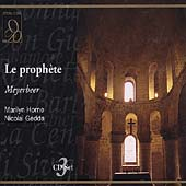 Meyerbeer: Le Proph&egrave;te / Horne, Gedda, Lewis, et al