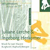 Zeitgenossen 17 -  Music for Two Pianos / Lerche, Herkomer