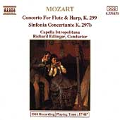 Mozart: Concerto for Flute & Harp, Sinfonia Concertante