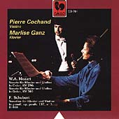 Mozart: Sonatas for Violin and Piano;  Schubert: Sonatine