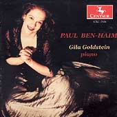 Ben-Haim: Piano Music / Gila Goldstein