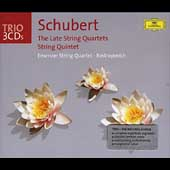 Trio - Schubert: Late Quartets, etc / Emerson Quartet
