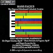 Mendelssohn: Organ Music + Favourites / Hans Fagius
