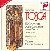 Puccini: Tosca -Highlights / Tilson Thomas, Marton, Carreras