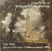 W. Lloyd Webber: Organ Works / Jane Watts