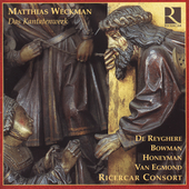 Weckman: Das Kantatenwerk / Ricercar Consort, et al