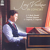 Jory Vinikour in Concert - Handel, Bach, Rameau, et al