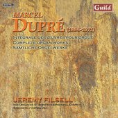Dupr&eacute;: Complete Organ Works Vol 6 / Jeremy Filsell