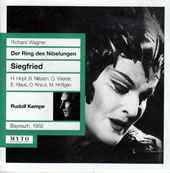 Wagner: Siegfried / Hans Hopf, Eirch Klaus, Otto Wiener, Otakar Kraus, Peter Roth-Ehrang, Birgit Nilsson (Bayreuth, 1962)