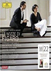 Mozart: The Marriage of Figaro / Netrebko, D'Arcangelo, Harnoncourt/Vienna PO [Blu-Ray]