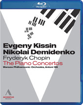 Chopin: The Piano Concertos / Kissin, Demidenko [Blu-Ray]