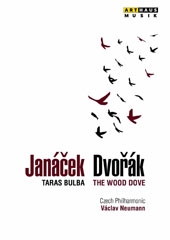 Dvorák: The Wood Dove, symphonic poem, Op. 110; Janácek: Tarus Bulba; Fucík: Marches & Polkas / Czech PO, Neumann (live, Prague 1986) [DVD]