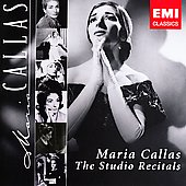 Maria Callas - The Studio Recitals