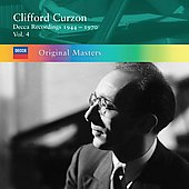 Original Masters - Clifford Curzon - Decca Recordings 1944-1970 Vol 4