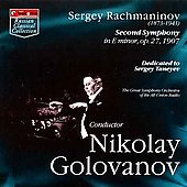 Rachmaninov: Second Symphony / Nicolay Golovanov, et al