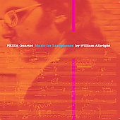 Albright: Music for Saxophones / PRISM Quartet