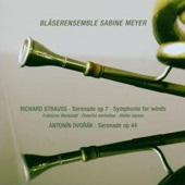 Strauss: Serenade Op 7, Symphony for Winds;  Dvorák / Meyer