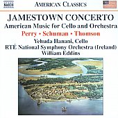 American Classics - Music for Cello & Orchestra / Eddins, Hanani, RTE NSO
