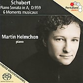 Schubert: Piano Sonata D 959, 6 Moments musicaux D 780 / Martin Helmchen
