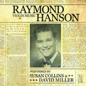 Hanson: Violin Music / Susan Collins, David Miller