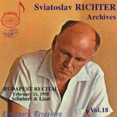Sviatoslav Richter Archives Vol 18