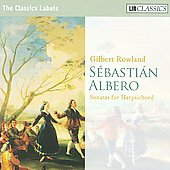 Albero: Sonatas for Harpsichord / Gilbert Rowland