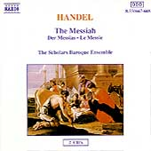 Handel: The Messiah / The Scholars Baroque Ensemble