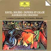 Ravel: Boléro, Daphnis et Chloé, etc / Abbado, London SO