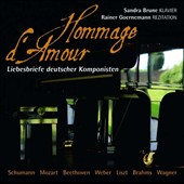 Homage d'Amour: Love Letters of German composers / Sandra Brune, piano