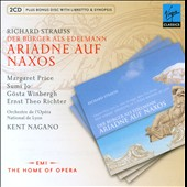 Richard Strauss: Ariadne auf Naxos; Der Burger als Edelmann / Margaret Price; Sumi Jo, Gosta Winbergh - Nagano