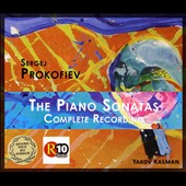 Prokofiev: The Complete Piano Sonatas (9) / Yakov Kasman, piano [3 CDs]