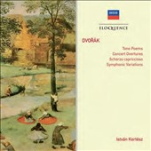 Dvor&#225;k: Tone Poems; Concert Overtures; Scherzo Capriccioso; Symphonic Varations