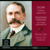 Elgar: Enigma Variations; The Wasps; Vaughan Williams: Greensleeves / Michael Stern, Kansas City Symphony